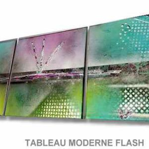 TABLEAU MODERNE FLASH
